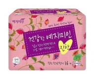 Прокладки гигиенические Натуральный хлопок YEJIMIN Rich herb cotton sanitary pads large 14шт большие: фото